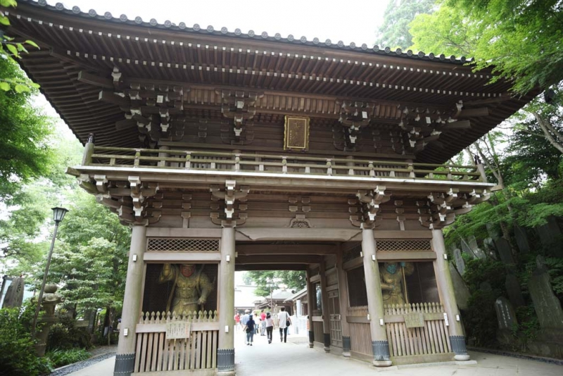 Shinonno-mon Gate of Yakuo-in
