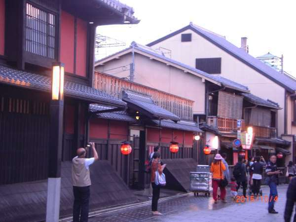 Very classy teahouse in Gion district.