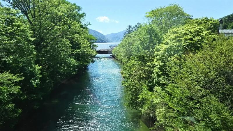 Stream to Lake Chuzenji