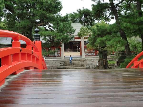 住吉神社反桥