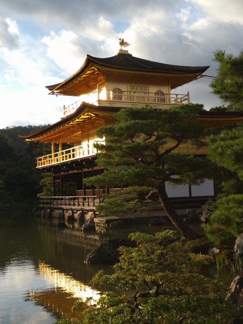 Golden Pavillion ( Kinkakuji temple )