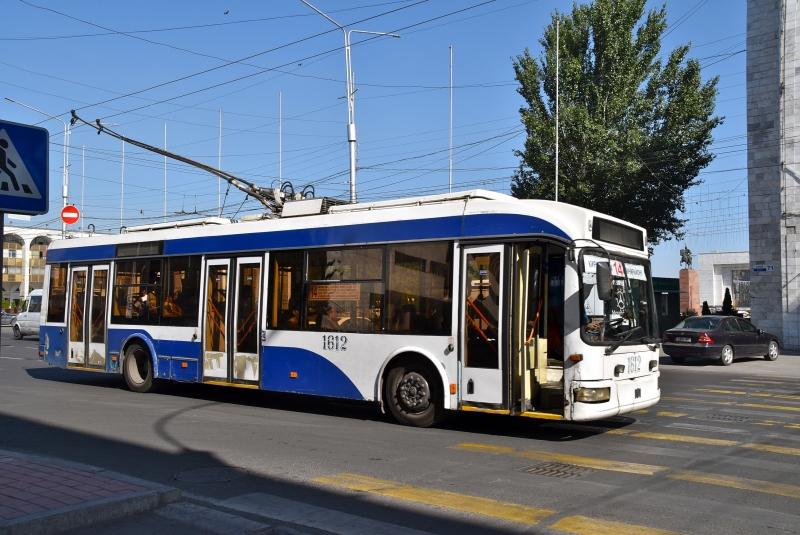 Local transportation in Bishkek