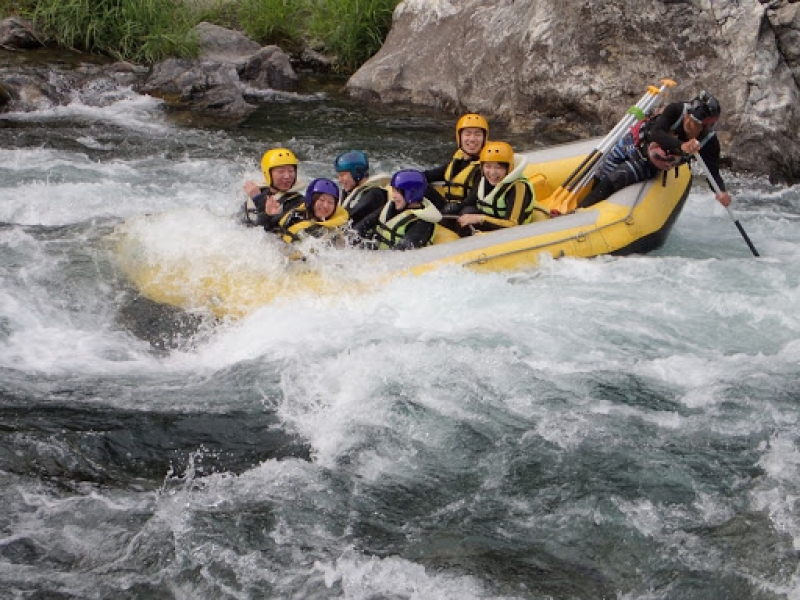 Experience Kuma River adventure exciting white water rafting.