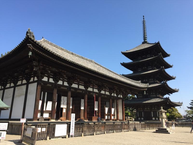 Kofukuji Temple National Treasure Museum & Five Storied Pagoda