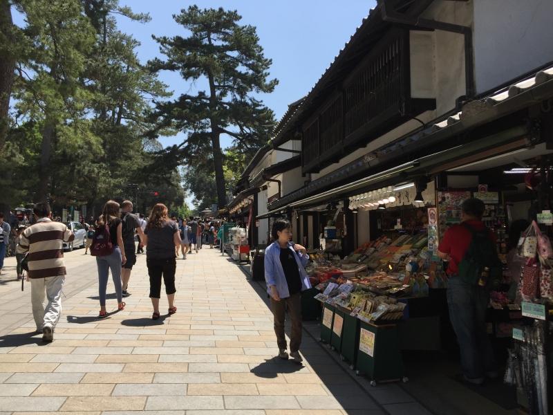 Shops in Nara