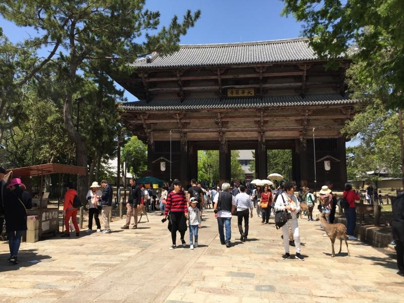 Todaiji Temple's Gate