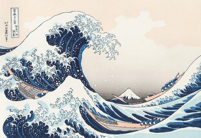 The Grage Wave off Kanagawa, Hokusai