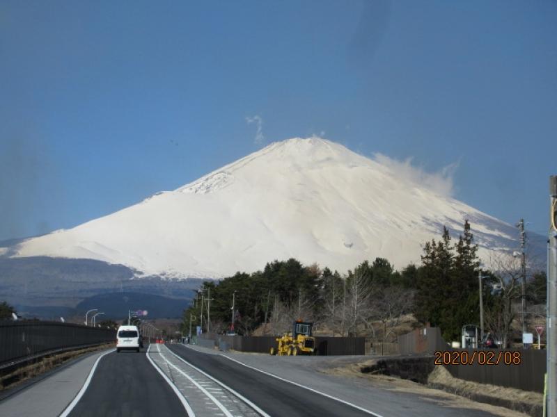 Mt. Fuji in February