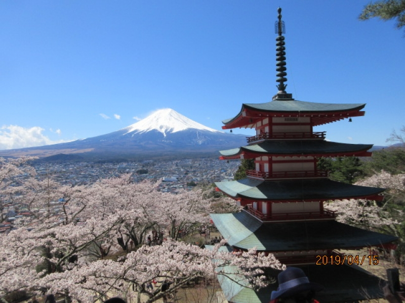Mt.Fuji in April