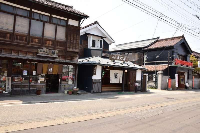 Nanokamachi-dori    traditional Japanese street