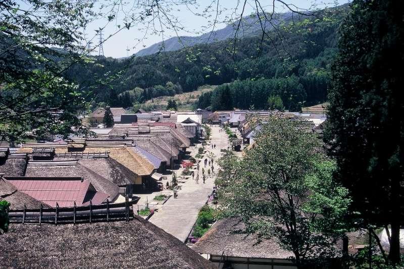 Ouchijyuku  old inn town