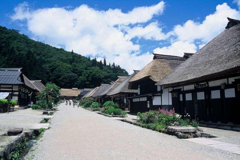 Ouchi-jyuku   old inn town