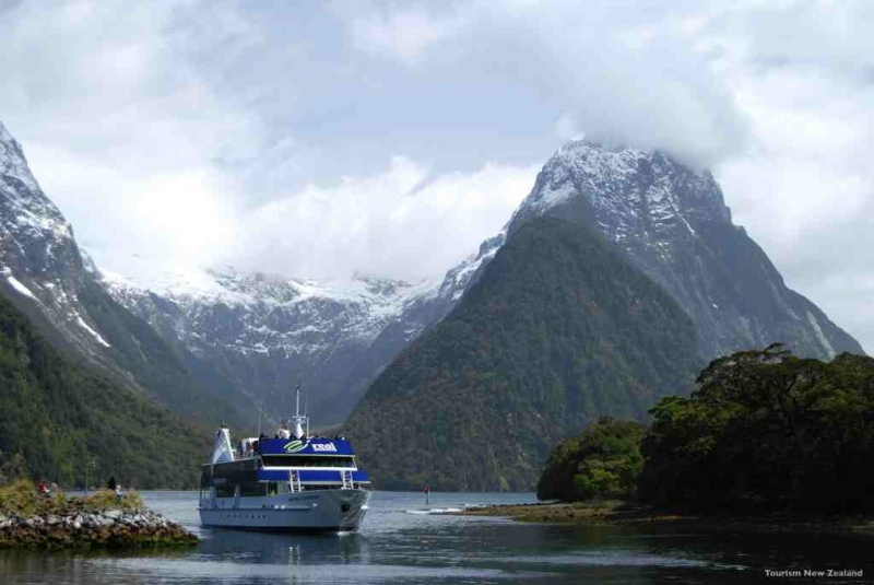 Milford Sound in Fiordland National Park