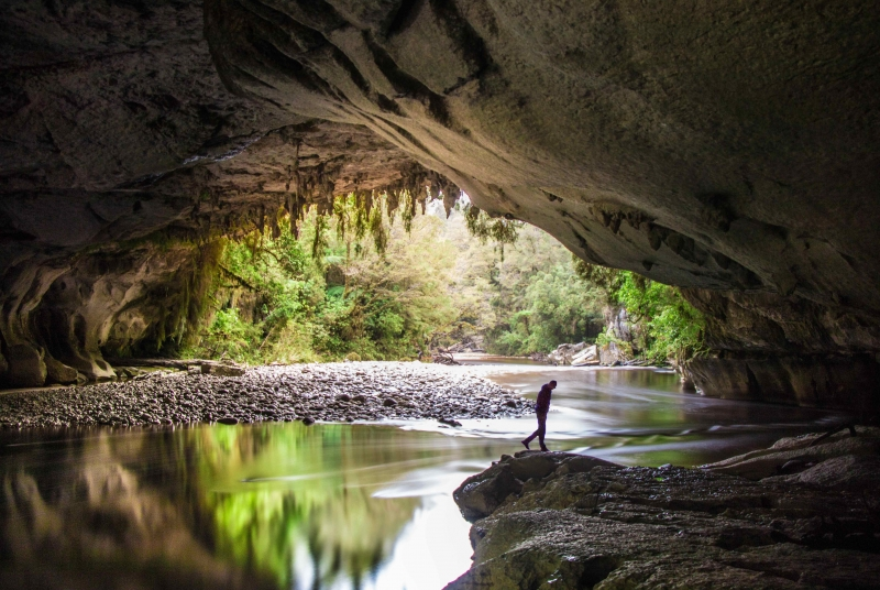 The Oparara Arches on the South Island's West Coast. Photo: ©Lana Young