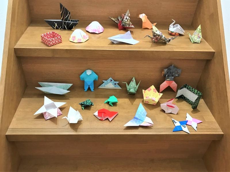 Various Origami works.