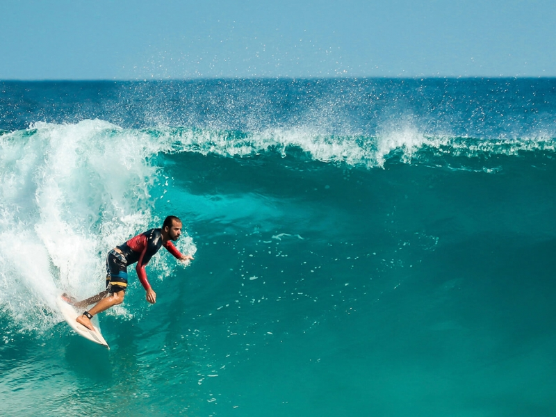 Learn all about the Australian surfing culture and perhaps learn how to body surf