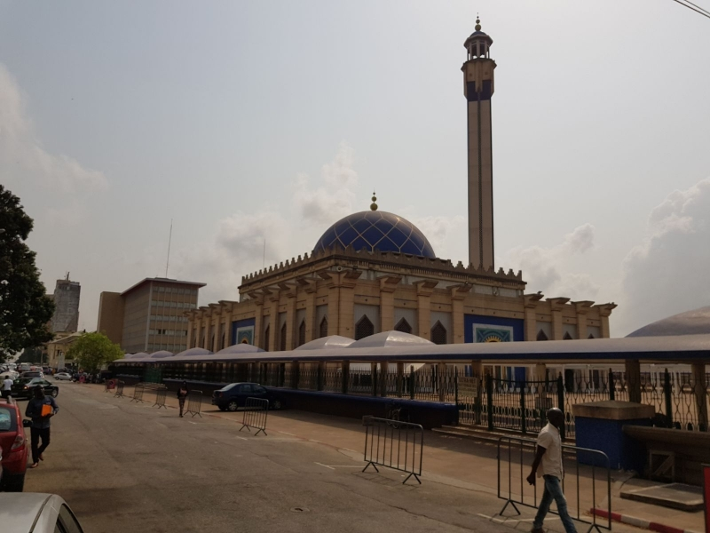 Grand Mosque at Plateau