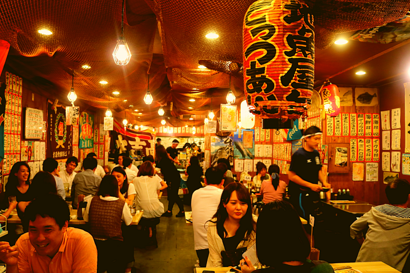 Dine where only the locals go! Feel the real atmosphere of Osaka here