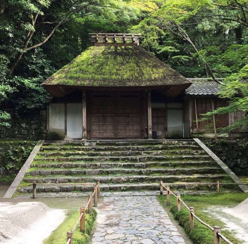 Honenin Temple on the Path of Philosophy
