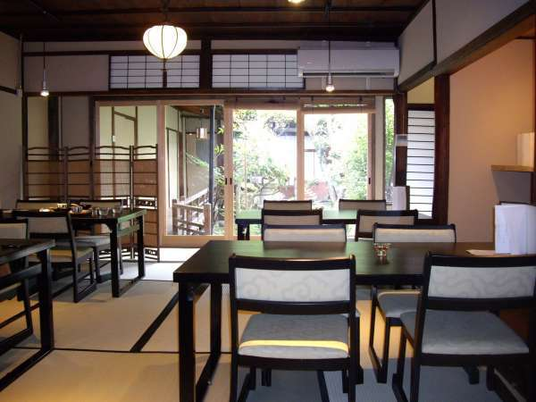 Japanese cafe at Nara town. Why don't you try Japanese sweet?