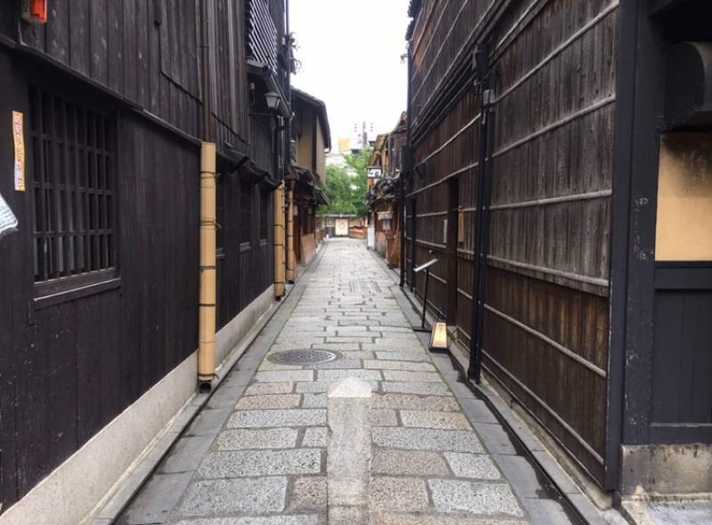 Gion on a quiet day