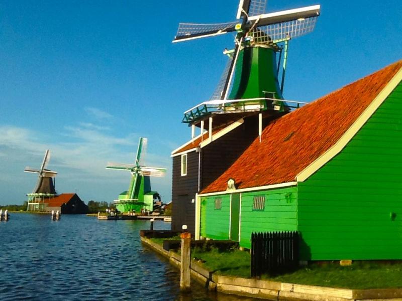 Windmill village.