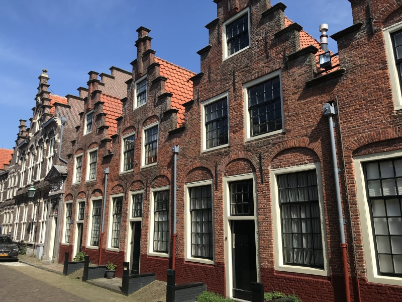 Holland houses.