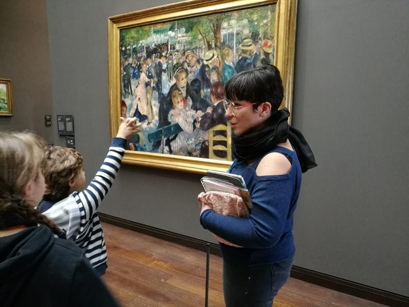 Renoir, Le bal au Moulin de la Galette