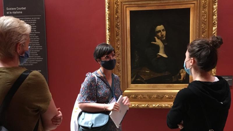 Courbet, Autoportrait