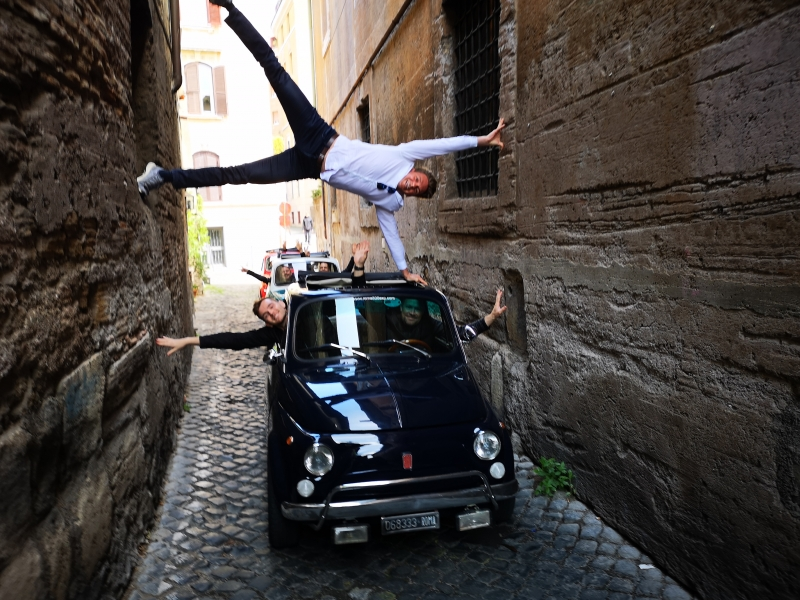 ADVENTURE and Fiat 500 is out there! Happiness exists, make it happen ;)