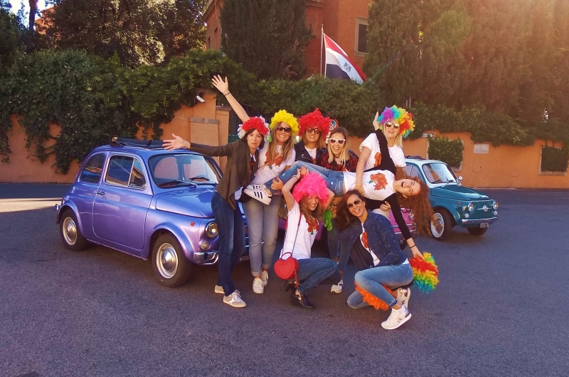ADVENTURE and Fiat 500 is out there! Great for Hen&Stag events ;) Happiness exists, make it happen ;)