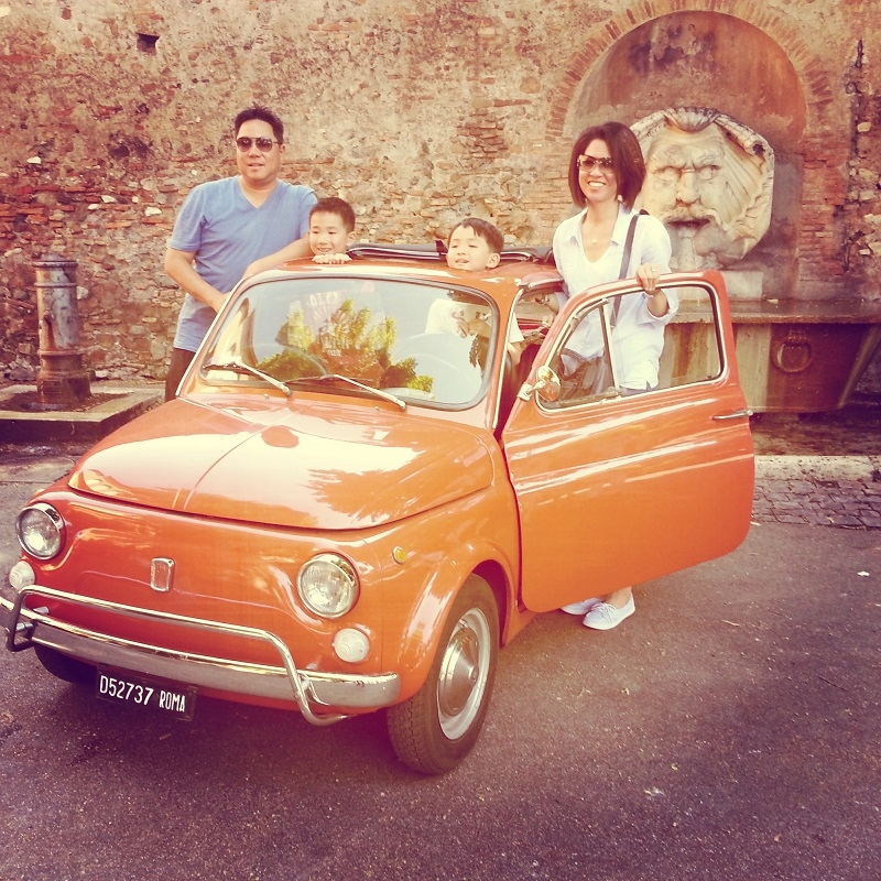 When was the last time you enjoyed MAGIC with your family and friends? Warning: our Fiat 500 tours in Rome contain FUN!