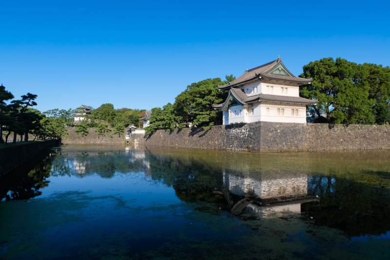 Let's start with Imperial Palace as a former Edo castle.