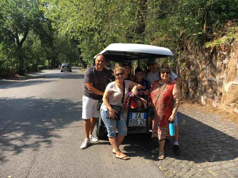 Full Day Private Tour-Rome in the Golf Cart