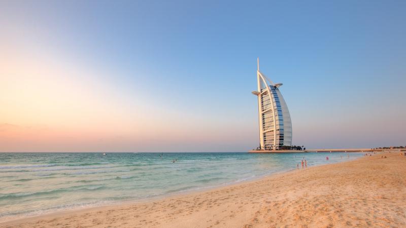 Burj Al Arab Beach view