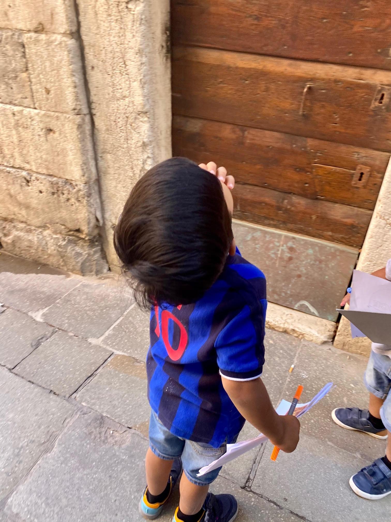 Treasure hunt hidden Venice family friendly experience