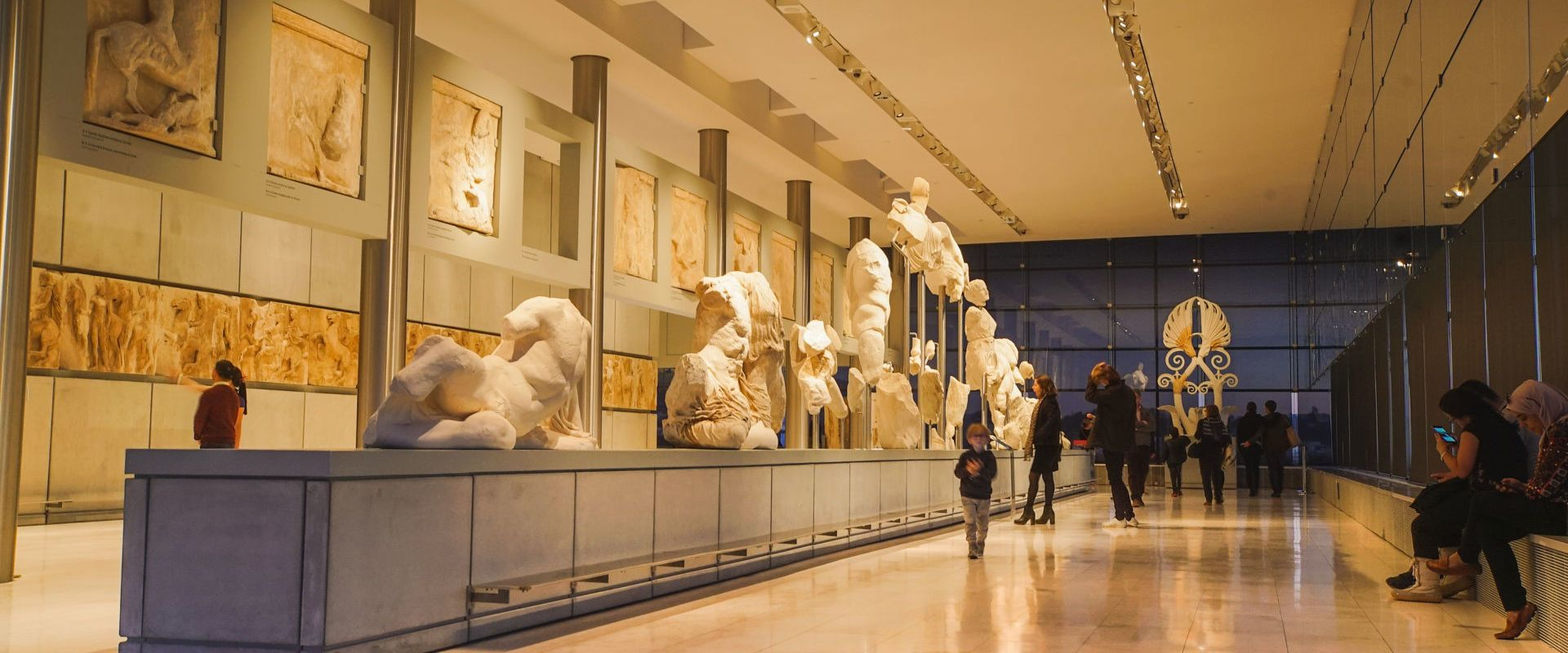 The West Pediment of the Parthenon in the Acropolis Museum