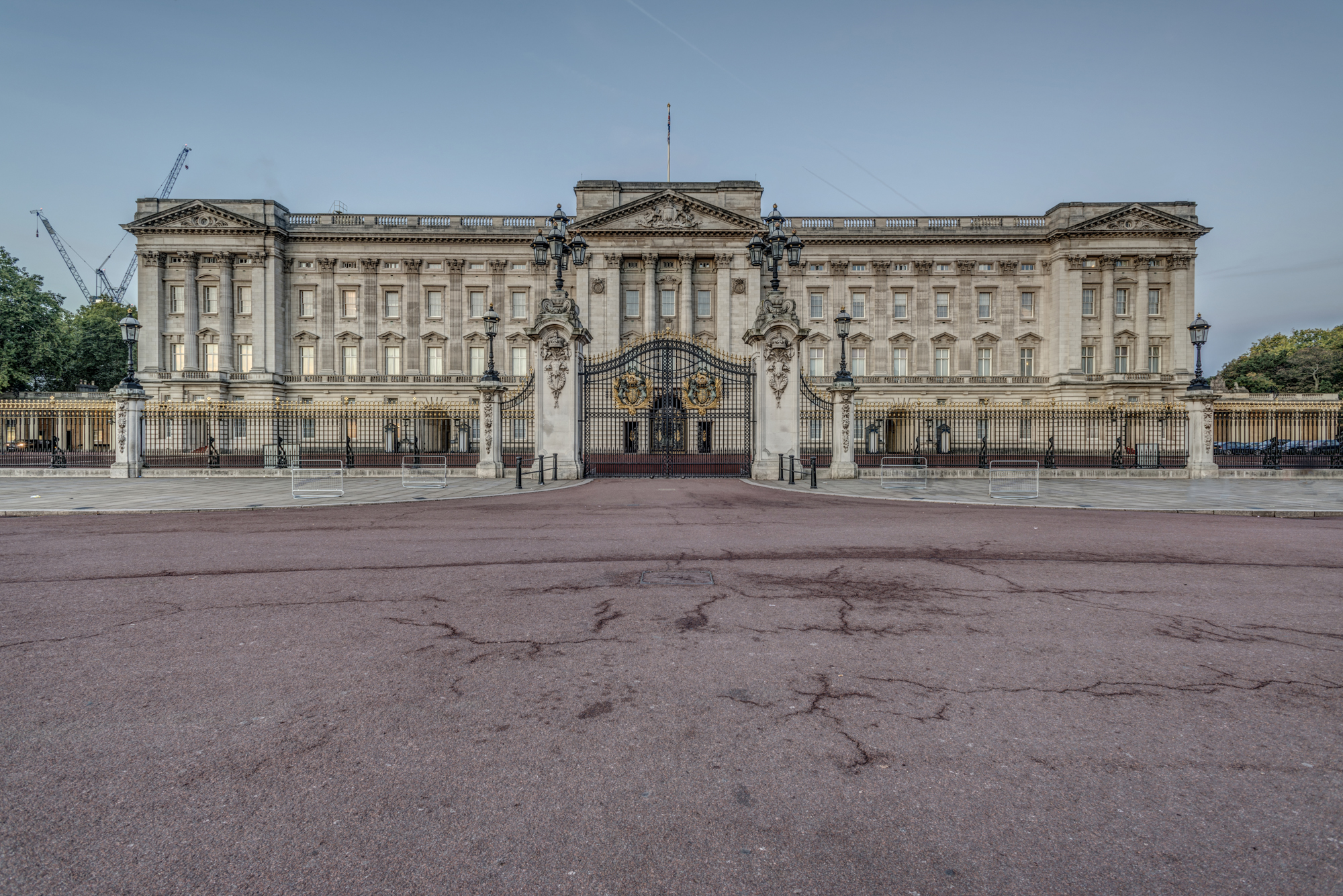 Buckingham Palace - the London residence of the Queen