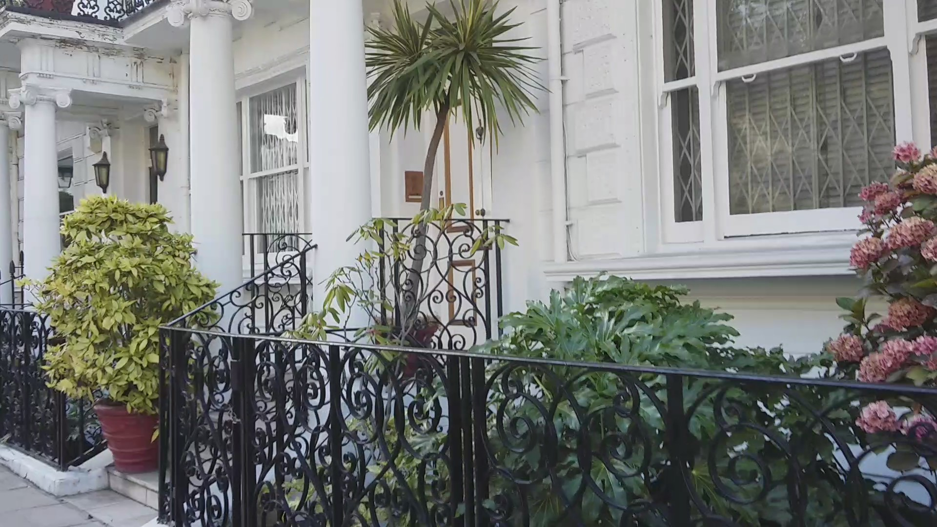 The house in which Jimi Hendrix died