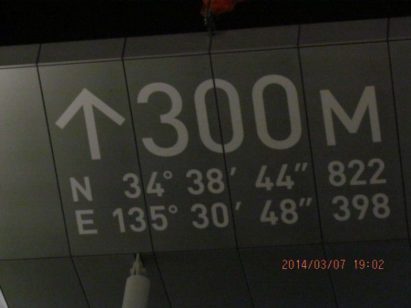 It shows the 60th floor with a height of 300 meters
