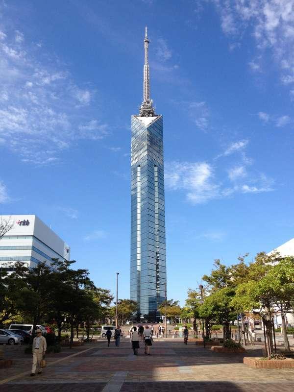 Fukuoka Tower, the symbol of modern Fukuoka.