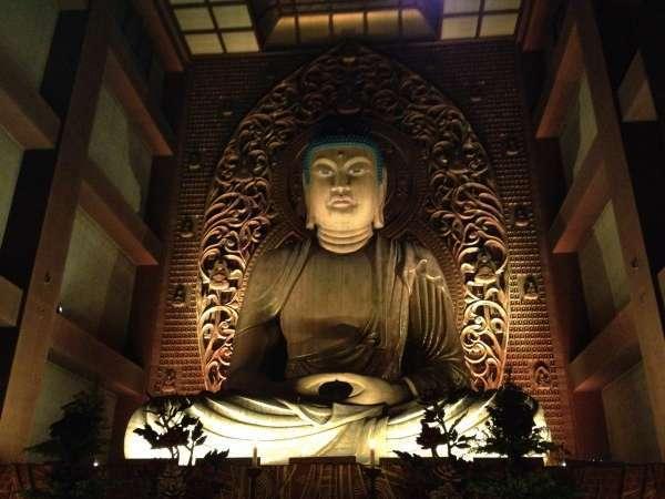 Great Buddha statue in Tocho-ji temple.