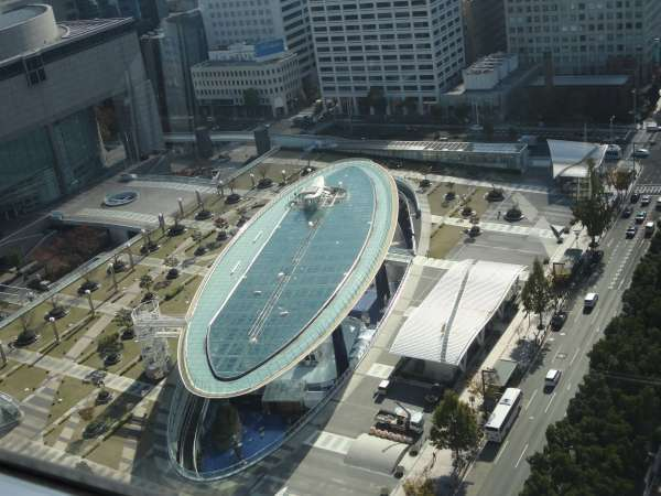 Oasis21 viewed from Nagoya TV Tower