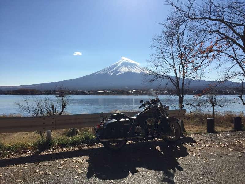 Mt. Fuji from Yamanakako lake