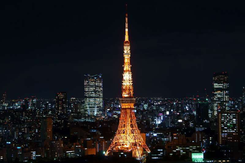 O2. Tokyo Tower (Night view)