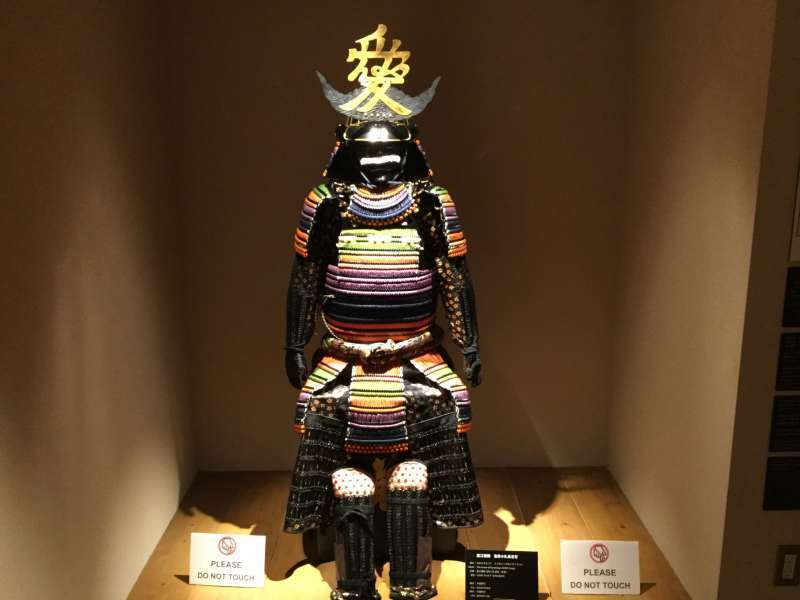 M2. Samurai Museum (Many Samurai armors and swords are displayed)
