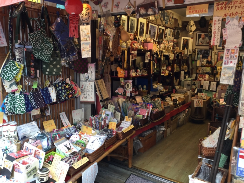S8. Yanaka Ginza (A souvenir shop)