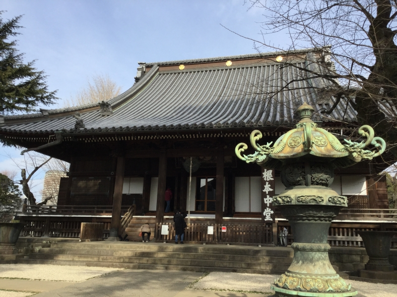 T5. Ueno Kanei-Ji Temple (The Main Hall)