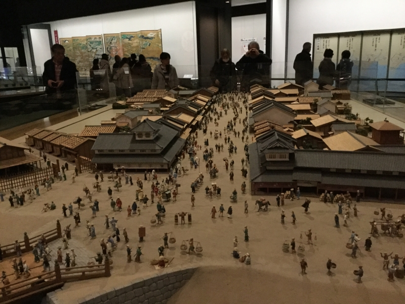 M4. Edo-Tokyo Museum (Scale model of Edo downtown)