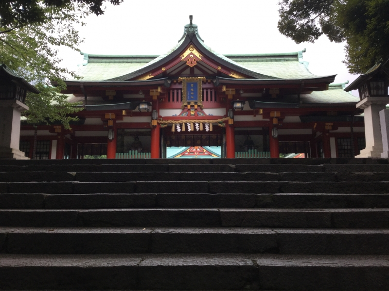 T8. Hie Shrine (Main Gate)